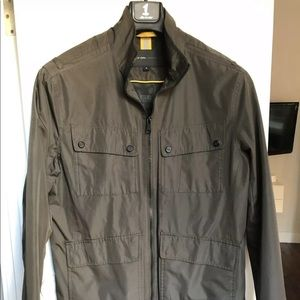 Marc New York by Andrew Marc Green Military Jacket